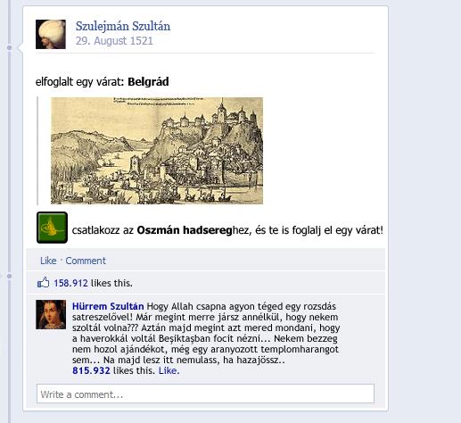 Szulejmán elfoglalja Belgrádot