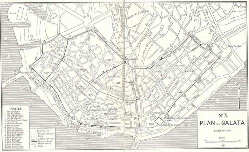 Genovai fal térkép