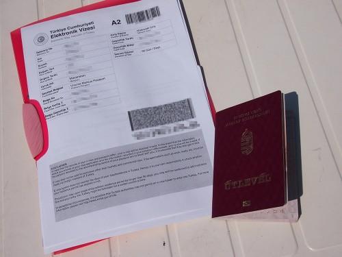 Törökországi E-vízum
