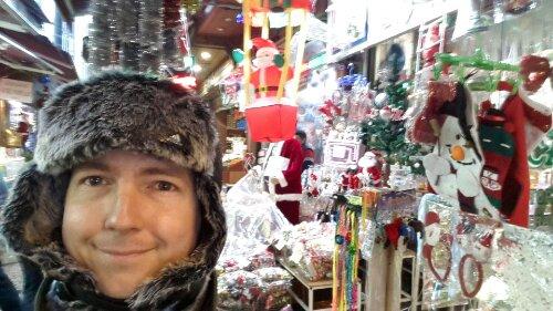 A Karácsonybazárban és az ítéletidőben