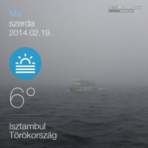 Isztambul köd