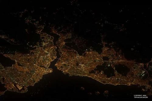 Isztambul az űrből