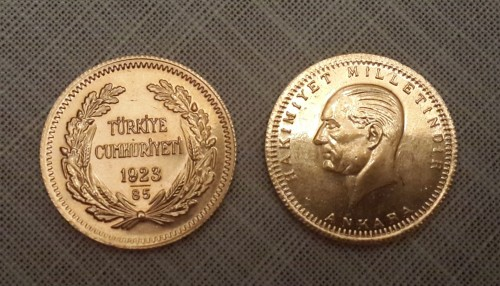Török aranyérme (Cumhuriyet)