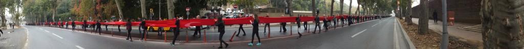 A nagyon-nagyon-nagyon hosszú török zászló