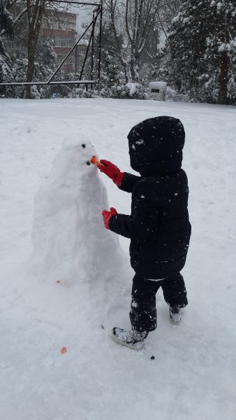 Klasszikus hóember