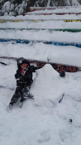 Mi kicsi hóemberünk