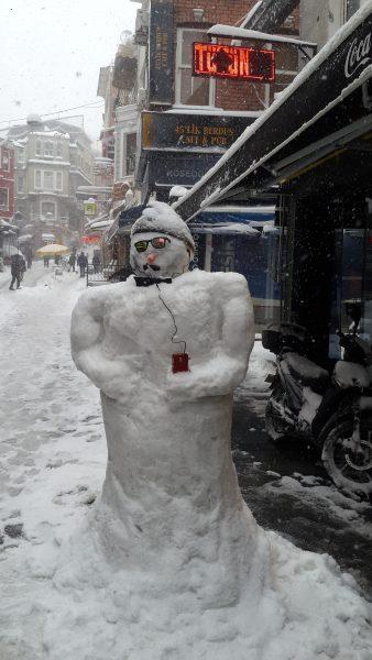 Hóember Beşiktaş-ban