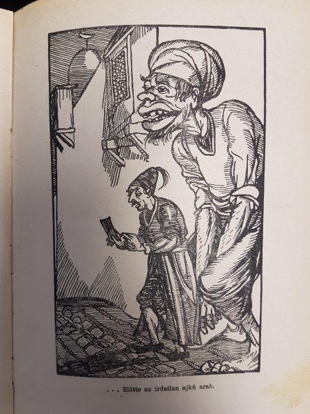 Az irdatlan ajkú arab - Forrás Kúnos Ignác könyve