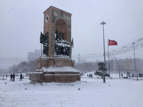 Taksim-tér - Forrás: Saadet