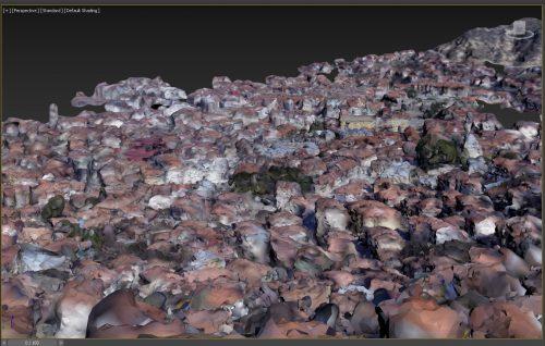 Kastamonu belvárosa 3D modell