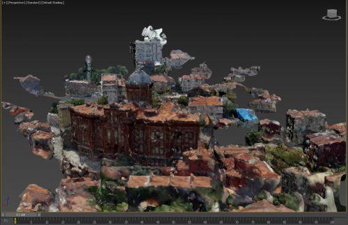 Phanar Görög Iskola 3D modell