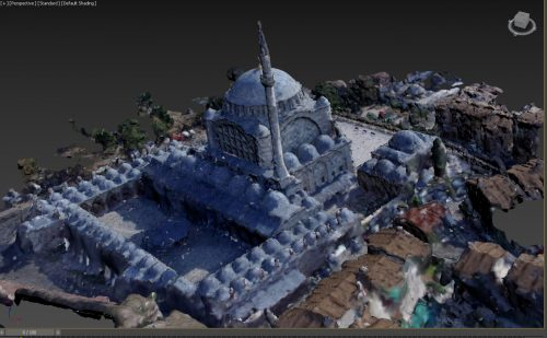 Mihrimah Sultan Camii 3D modell