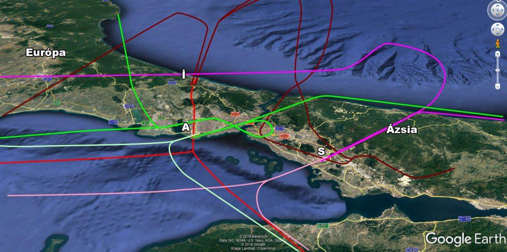 Isztambul új légifolyosói- Dél-nyugati szélben