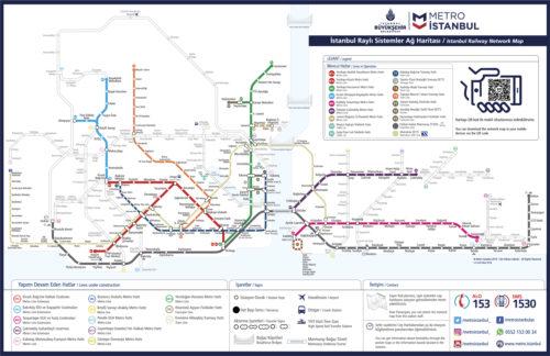 Isztambul metróhálózata (2019) - Szürke vonal a Marmaray