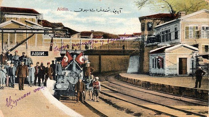Az első vasútvonal megnyitó ünnepsége 1860. október elsején - Forrás: Railly News