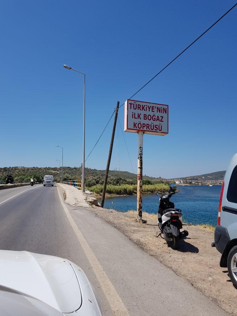 """Az első """"Boszporusz-híd"""""""