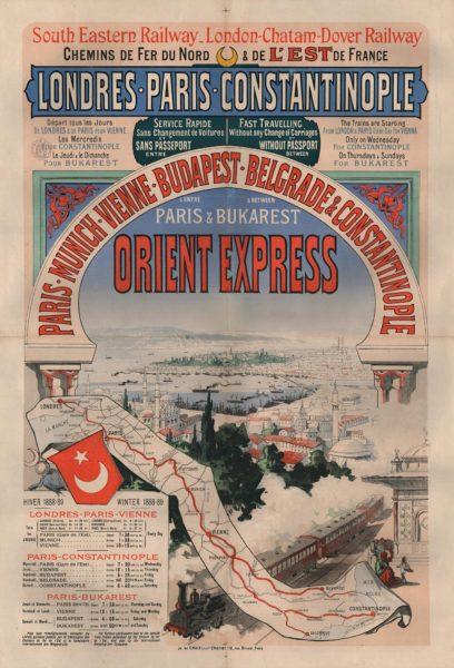 Az Orient Expressz - Forrás: Wikipédia