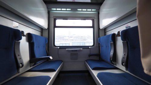 Keleti-Expressz, kupé (örtülü kuşetli) - Forrás: Biz evde yokuz