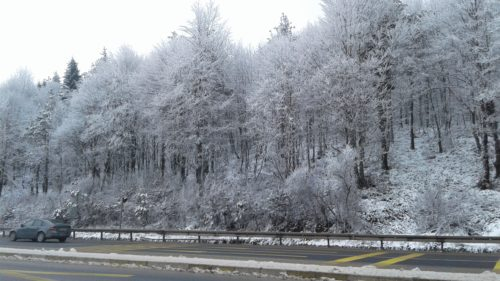 Bolu hágó télen: Forrás: Cengiz Akinc - Google Earth