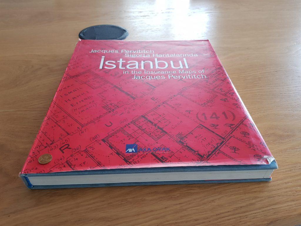 Jacques Pervititch sigorta haritalarında İstanbul