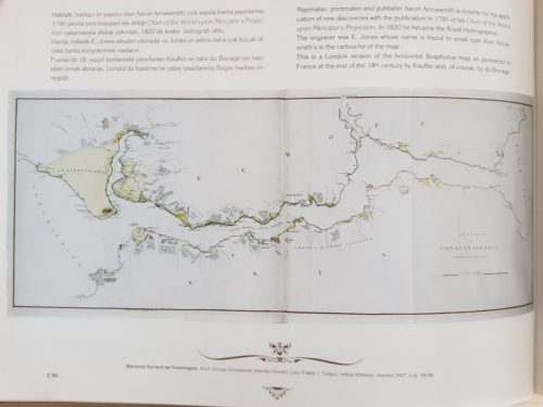 Egy Boszporusz térkép 1790-ből