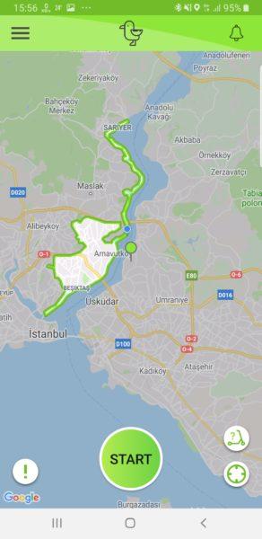 A fél Boszporuszon végig lehet menni
