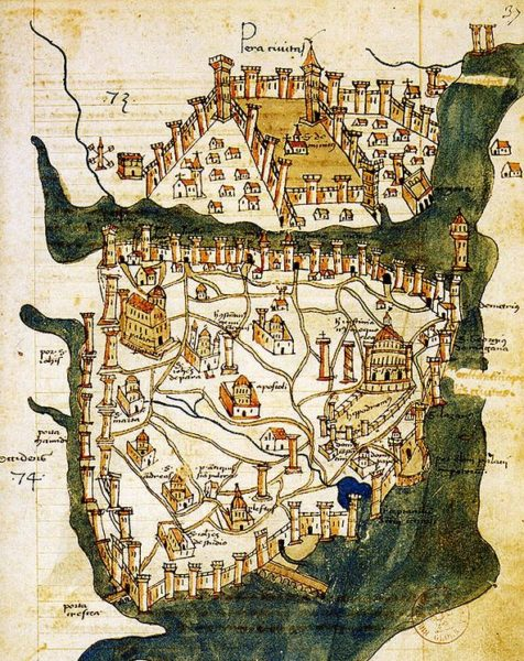 Cristoforo Buondelmonti térképe 1422-ből