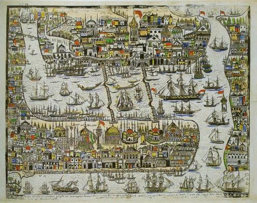 Isztambul valamikor 1500 és 1900 között.