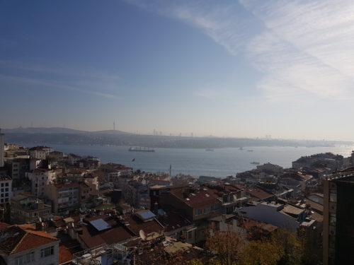 Tombol a tél Isztambulban (Ilyen távból a fürdőruhás lányok nem látszódnak rendesen...)