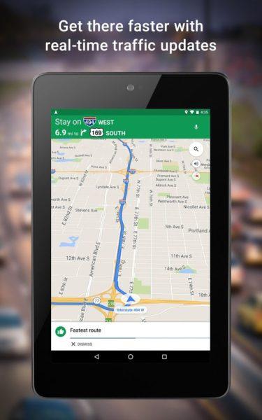 A Google navigációja