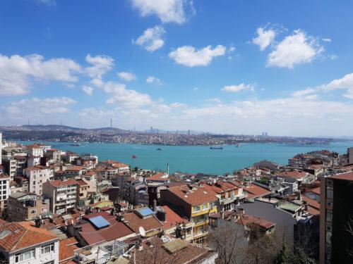 A türkizkék Boszporusz