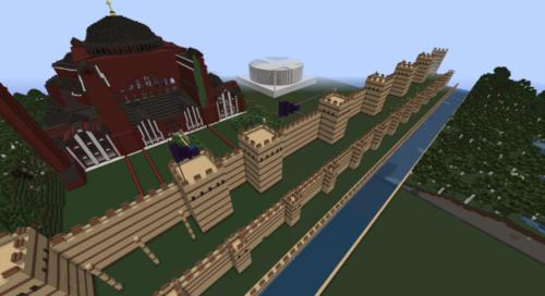 Theodosius-fal Minecraft verzió Készítő: AR1400