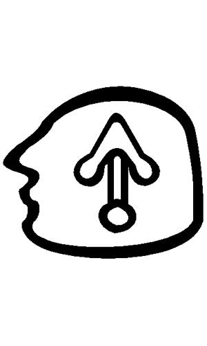 Az isteni gondolat! A fej, és a véső. CAPUT2, SCALPRUM Képforrás: Wikipédia