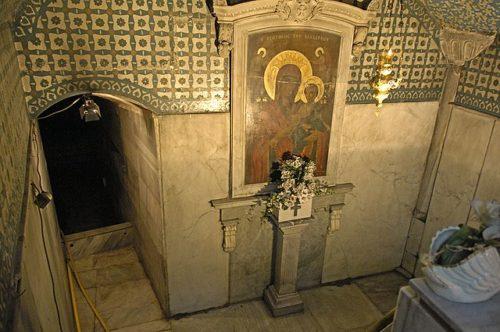 A Blakhernai Szűz Mária-temploma és a Szent Fürdő. Forrás: Wikipédia