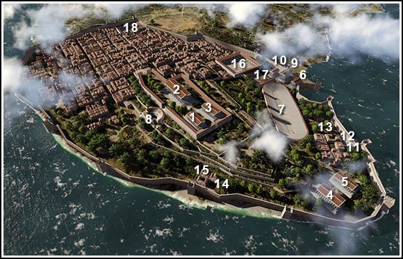 Büzantion város mielőtt Konstantinápoly lett volna Forrás: byzantium1200.com