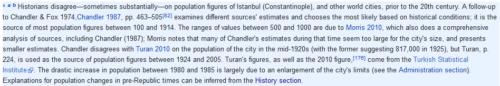 Itt van, hogy a Wikipédia szerkesztői honnan gyűjtötték a kétezer évnyi lakossági adatokat.
