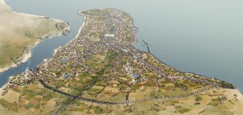 Konstantinápoly 1453-ban. Forrás: Rocío Espín Piñar