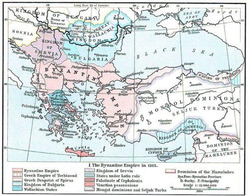 Anatólia 1263-ban. Forrás: Wikipédia