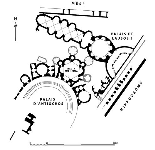 Lausus palotája Forrás: Wikipédia