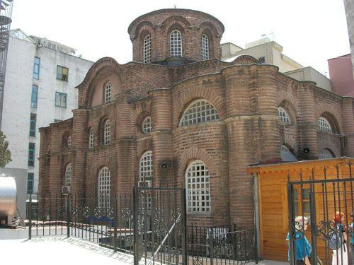 Myrelaion Templom (Bodrum Camii) Forrás: Wikipédia
