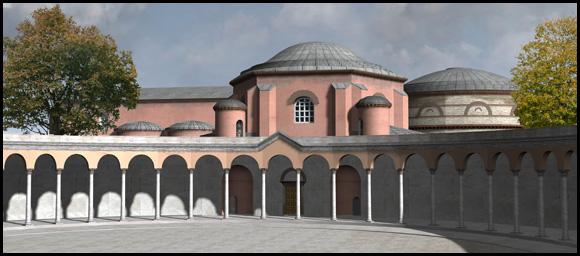 Antichos palotája  Forrás: byzantium1200.com