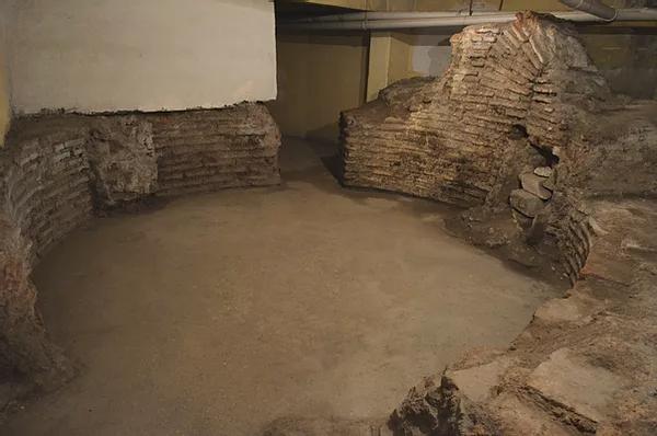 A Paykhane utca romjai Forrás: The Byzantine Legacy